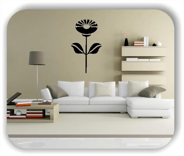 Wandtattoo - Schnittblumen - ab 32x50 cm - Motiv 9036