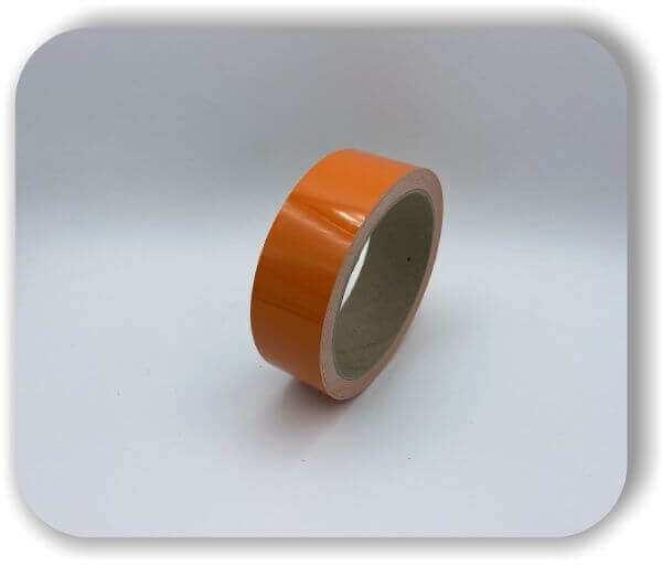 Zierstreifen 50 mm Orange aus Hamburg für Auto, Wohnwagen & Boot