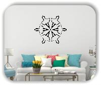 Wandtattoo - Snowflakes - ab 50x43 cm - Motiv 2565