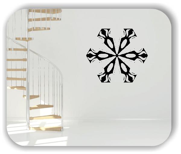 Wandtattoo - Snowflakes - ab 50x43 cm - Motiv 2582