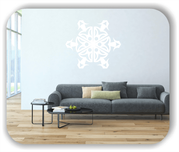 Wandtattoo - Snowflakes - ab 50x43 cm - Motiv 2562
