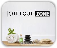 Wandtattoo - Chillout Zone