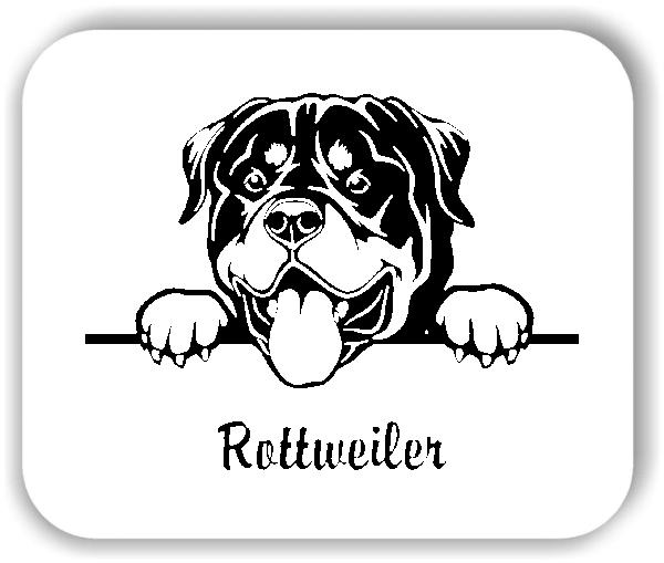 Wandtattoo - Hunde - Rottweiler Variante 1
