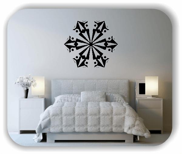 Wandtattoo - Snowflakes - ab 50x43 cm - Motiv 2555