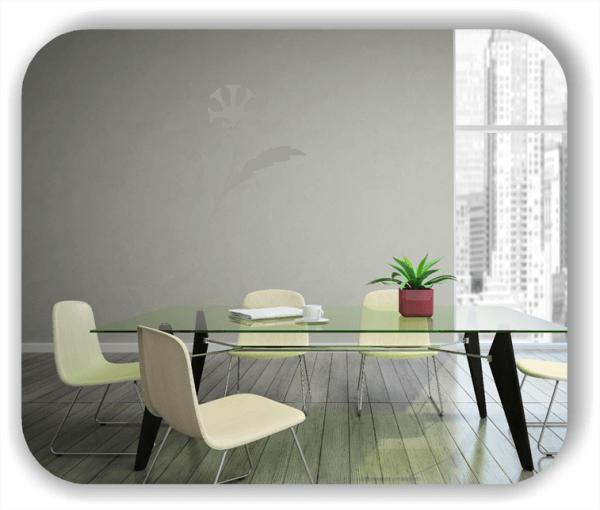Wandtattoo - Schnittblumen - ab 32x50 cm - Motiv 9040