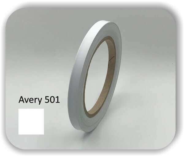 10 mm Zierstreifen für Auto & Boot Farbe: weiß