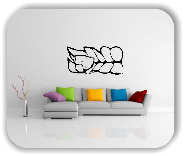 Wandtattoo - Natur Ornamente - ab 50 x 25 cm - Motiv 66