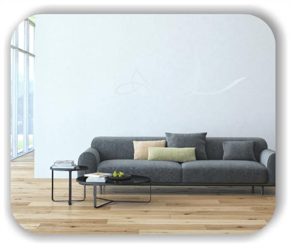 Wandtattoo - Schnörkel Design - ab 60 x 18 cm - Motiv 15