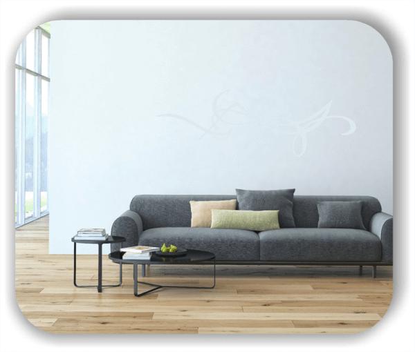 Wandtattoo - Schnörkel Design - ab 60 x 20 cm - Motiv 39