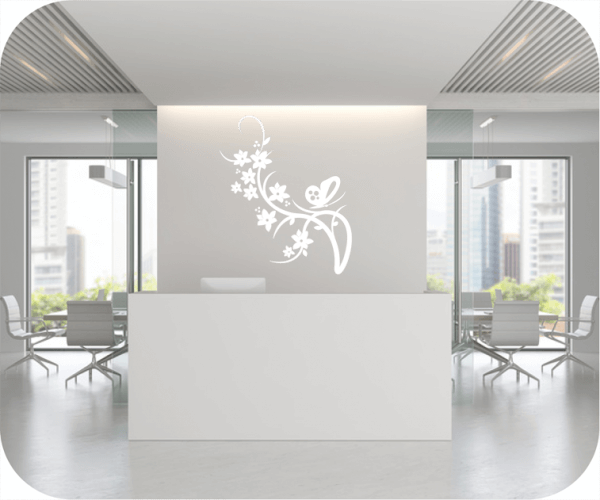 Wandtattoo - China Floral - ab 50x60 cm - Motiv 3171