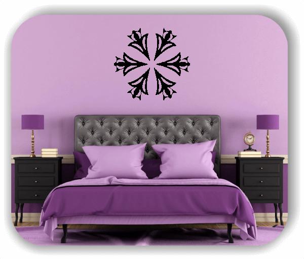 Wandtattoo - Snowflakes - ab 50x48 cm - Motiv 2505