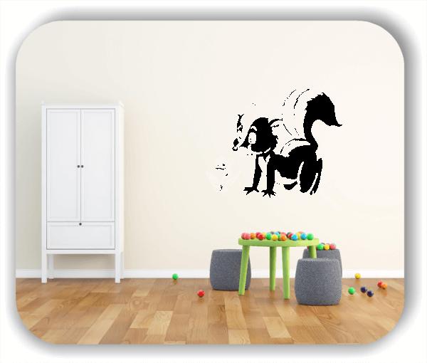 Wandtattoo - Süßes Stinktier (Skunk)