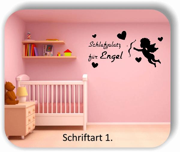 Wandtattoo - Schlafplatz für Engel