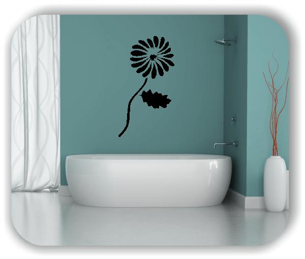 ❤ Wandtattoo - Schnittblumen - ab 28x50 cm - Motiv 9031