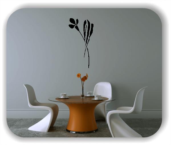 Wandtattoo - Schnittblumen - ab 25x50 cm - Motiv 9017