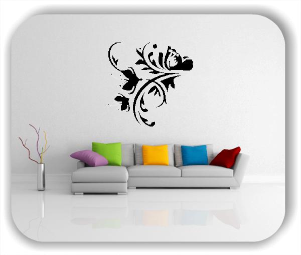 Wandtattoo - China Floral - ab 50x50 cm - Motiv 3162