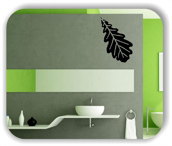 Wandtattoo - ab 50x70cm - Blätter - Motiv 8245