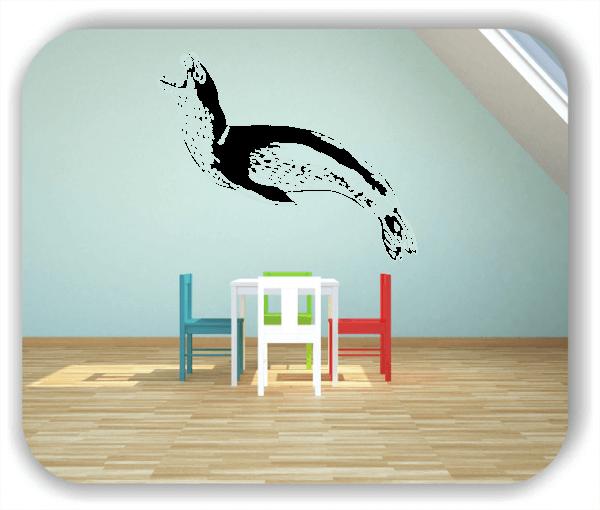 Wandtattoo - ab 50x40 cm - Seerobbe