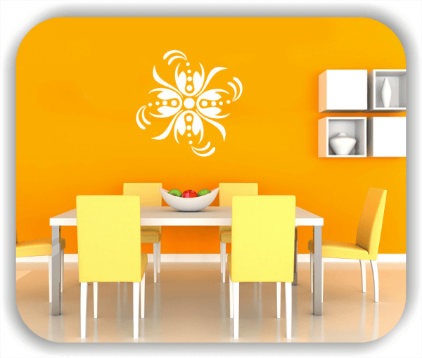 Wandtattoo - Florale Dingbats - ab 50x50 cm - Motiv 4109