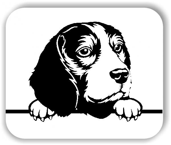 Wandtattoo - Hunde - Beagle - ohne Rassename