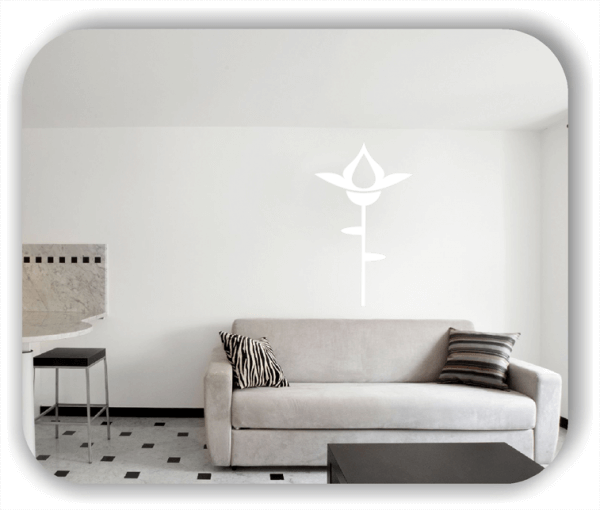 Wandtattoo - Schnittblumen - ab 30x50 cm - Motiv 9032