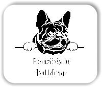 Wandtattoo - Hunde - Französische Bulldogge Variante 1