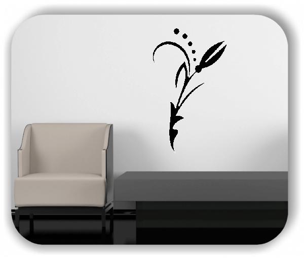 Wandtattoo - Florale Blumen & Blätter - Motiv 69
