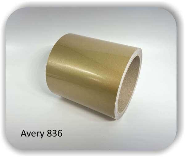 Dekorstreifen selbstklebend 200 mm Gold glänzend