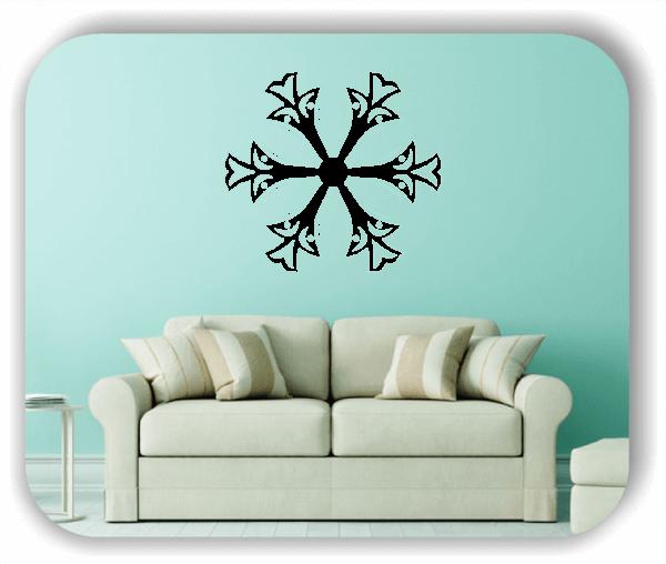 Wandtattoo - Snowflakes - ab 50x47 cm - Motiv 2513