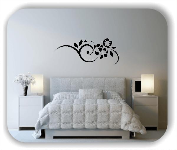 Wandtattoo - Florale Blumen & Blätter - Motiv 2821