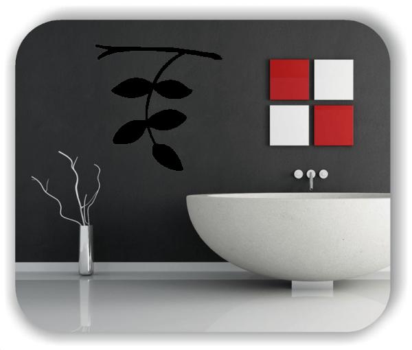 Wandtattoo - ab 50x50cm - Blätter - Motiv 8222