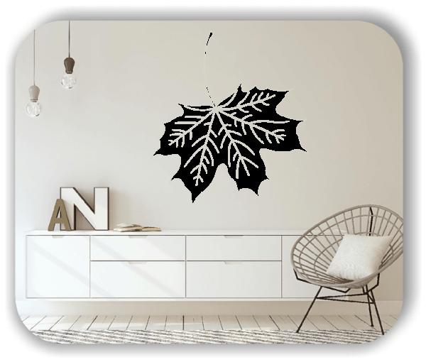 Wandtattoo - ab 50x55cm - Blätter - Motiv 8258