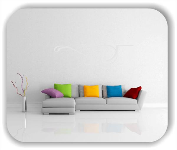 Wandtattoo - Schnörkel Design - ab 60 x 18 cm - Motiv 16