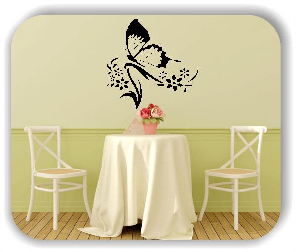 Wandtattoo - China Floral - ab 50x50 cm - Motiv 3165