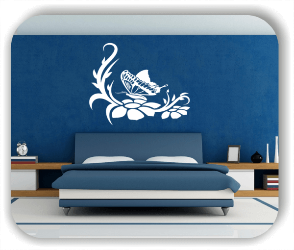 Wandtattoo - China Floral - ab 50x40 cm - Motiv 3142