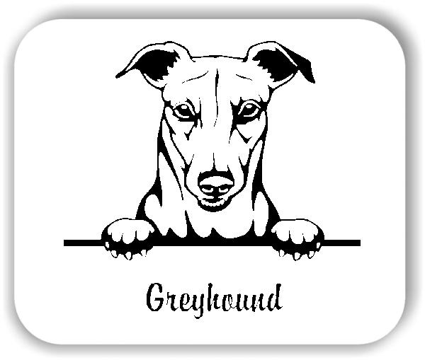 Wandtattoo - Hunde - Greyhound