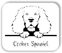 Wandtattoo - Hunde - Cocker Spaniel