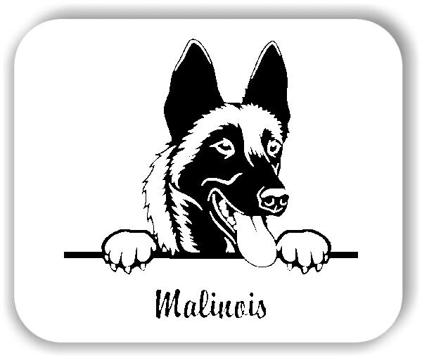 ❤ Wandtattoo - Hunde - Malinois Variante 2 ❤