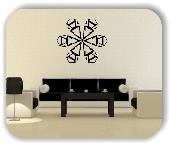 Wandtattoo - Snowflakes - ab 50x43 cm - Motiv 2569