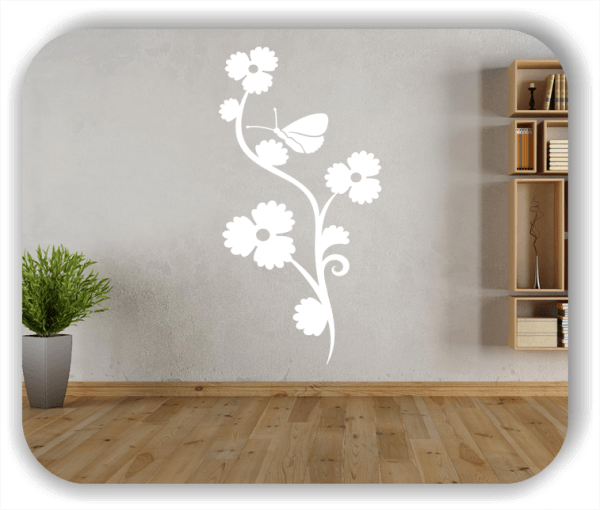 Wandtattoo - China Floral - ab 50x97,5 cm - Motiv 3187
