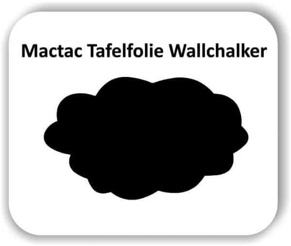 2 Stück 45 x 27 cm Tafelfolie Wolke Wallchalker Kreidefolie