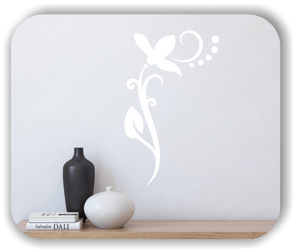 Wandtattoo - Florale Blumen & Blätter - Motiv 71