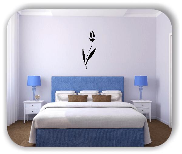 Wandtattoo - Schnittblumen - ab 18x50 cm - Motiv 9000