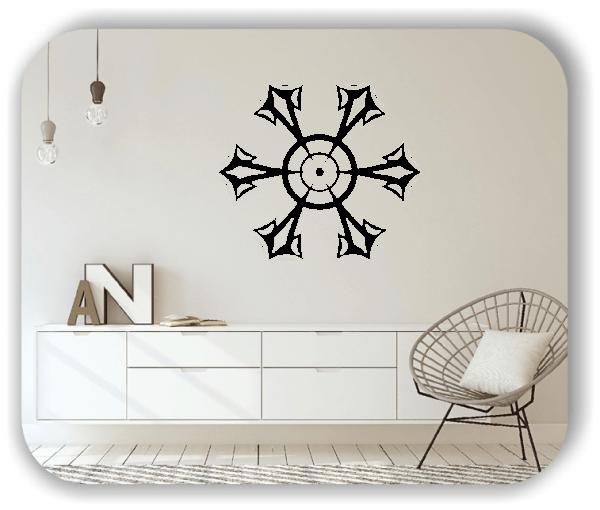 Wandtattoo - Snowflakes - ab 50x43 cm - Motiv 2586