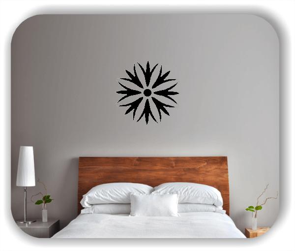 Wandtattoo - Florale Dingbats - ab 50x50 cm - Motiv 4106