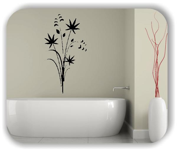 Wandtattoo - Japan Floral - ab 33x60 cm - Motiv 3232