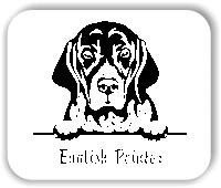 Wandtattoo - Hunde - English Pointer