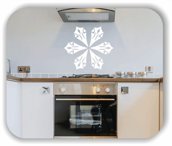 Wandtattoo - Snowflakes - ab 50x43 cm - Motiv 2541