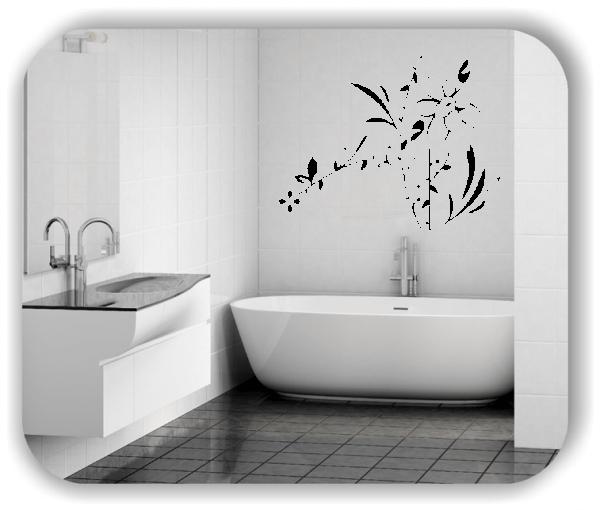 Wandtattoo - Florale Blumen & Pflanzen - ab 50x39,5 cm - Motiv 3031