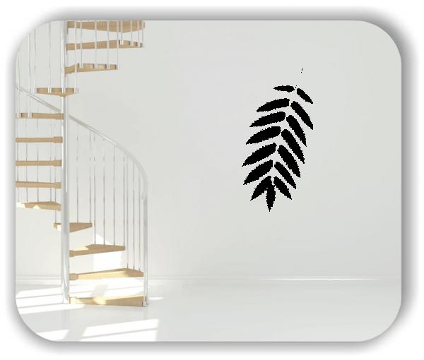 Wandtattoo - ab 50x97,5cm - Blätter - Motiv 8238